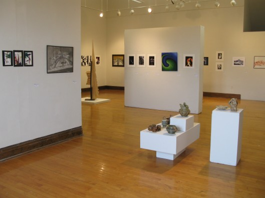 Overview of Marygrove Student Show