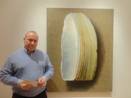 Roumen Boudev and his painting